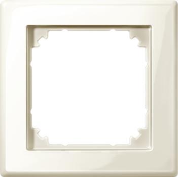 Merten 478144 M-SMART-Rahmen, 1fach, cremeweiß glänzend