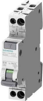 Siemens 5SV13166KK16 FI-Schutzschalter/Leitungsschutzschalter 2-polig 230V 0.03A 16A