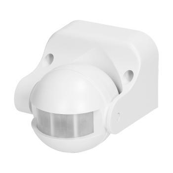 Orno OR-CR-201 Bewegungsmelder LED kompatibel 180 Grad, 1200W, IP44 weiß