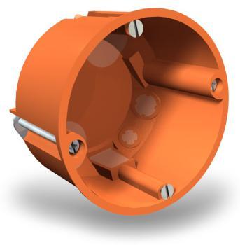 OBO 25 Hohlwanddosen winddicht 68mm x 61mm