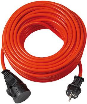Brennenstuhl 1161760 BREMAXX Verlängerungskabel IP44 20m rot AT-N05V3V3-F 3G1,5